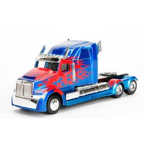 Miniatura 1:32 Optimus Prime Transformers 2017 Original Jada