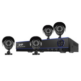 Kit Video Vigilancia 4 Camaras 720p Dvr 4 Ch 1080n Gdv-002