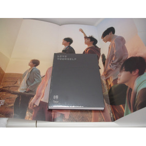 Kpop Bts Album Cd Love Yourself Tear C/ Poster Pronta Entreg