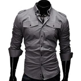 Camisa Social Slim Fit Estilo Italiano Frete Grátis P/ 2 Un