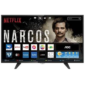 Smart Tv Led Aoc 39'' Hd Wi-fi 2 Usb 3 Hdmi Le39s597