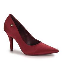 Sapato Scarpin Feminino Vizzano - Vinho