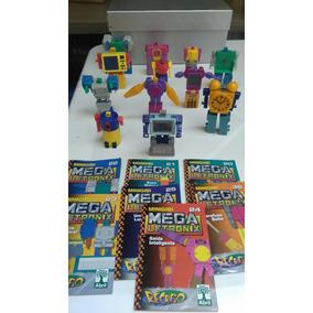 Coleção Megaletronix 12 Peças + 7 Gibis Megaletronix