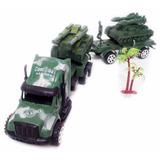 Caminhão De Guerra, Exército, Militar, Contem 6 Pçs