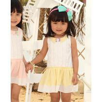 Vestido Para Niña Tallas 1, 2, 3, 4 Y 5 Años. Incluye Envio