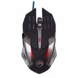 Mouse Gamer Optico Usb Metalico 6 Botones 3200 Dpi Marvo