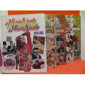 Lote Nosso Século 5 Livros- Abril Cultural(frete Grátis)
