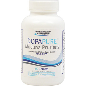 Dopapure Mucuna Pruriens 800 Mg 90 Tabletas