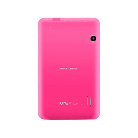Tablet Multilaser M7s Rosa Quad Core 8gb - Onofre Agora