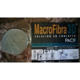 Macrofibra 3d Sustituto Malla Truckson Concreto