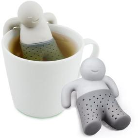Infusor De Silicon Para Te Modelo Tea Color Gris H1112