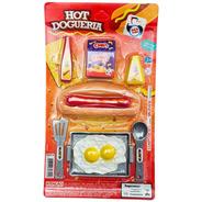 Kit Hot Dogueria Comidinhas De Brinquedo Cachorro Quente
