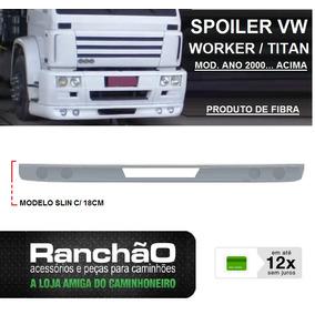 Spoiler Parachoque Caminhão Vw Worker 15.180 24.250 Slin