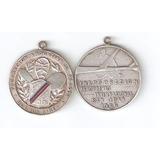Lote De Dos Medallas De Plata Antiguas 20 Gramos