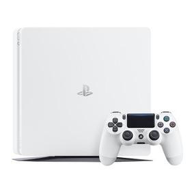 Playstation 4 Ps4 Slim 500gb Glacies Branco