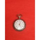 Antiguo Reloj A Cuerda C/incrustaciones Y Sellado,rdmn