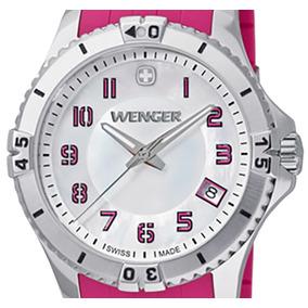 Reloj Wenger Squadron Lady Blanco, Correa Silicón