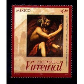 Mexico Sc 2551 $6.50p Arte Sacro Virreinal San Cristobal