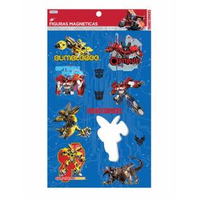 Figuras Magnéticas - Transformers - Giro Didáctico
