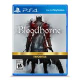 Juego Sony Bloodborne Ps4