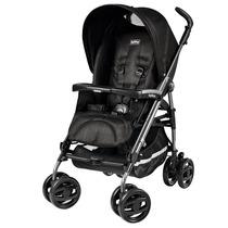 Carrinho De Bebê Pliko Compact Mod Black Pég-perego - Preto