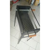 Churrasqueira Ferro Galvanizada Bar 1 Pé Fixo - Mundial