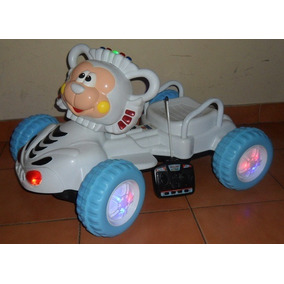 Carro Electrico Para Niños Control Para Padres Luz Y Musica
