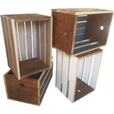 Huacal Caja Decorativa 4 Colores Envío Gratis Mobinterior