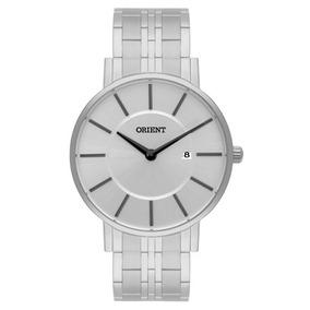 Relógio Masculino Orient Mbss1261 Prata/cinza