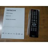 Control Remoto Y Manual Dvd Hitachi Modelo Hdvd-927