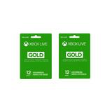 Dos Años De Xbox Live Gold En Una Cuenta Nueva