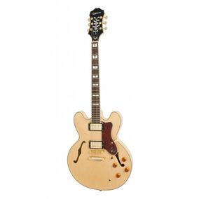 Guitarra Epiphone Semi Acústica Sheraton Ii Natural