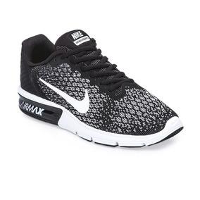 98d57838f0fb4 Nike Air Max Sequent 2 - Zapatillas Nike Negro en Mercado Libre ...