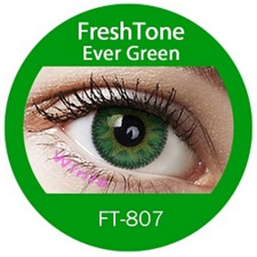 Promo X2 Pares 25% Off Lentes De Contacto Verde Freshtone