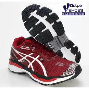 25c77c2904 Outlet Asics - Tênis Asics para Masculino Vermelho no Mercado Livre ...