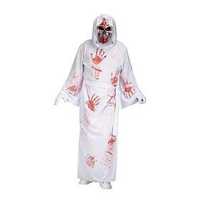 Disfraz Halloween Para Adulto Túnica Con Manchas