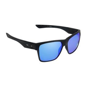 Óculos Masculino Oakley Two Face Xl Matte Black Sapphire Iri