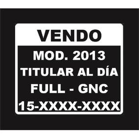 Calco / Vinilo / Cartel - Vendo Para Autos
