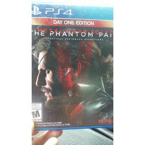 Metal Gear V The Phanton Pain Para Ps4