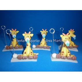 Souvenirs Jirafas Baby Shower Nacimiento