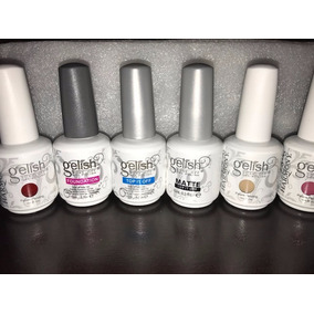 Oferta Esmaltes Gelish Colores Base Y Top 21 Días De Color