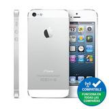Iphone 5s 16gb, Silver, Grado A Refaccionado + Lámina