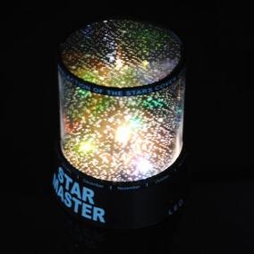 Lámpara De Noche Proyector Cielo Estrellas Cosmos Increible