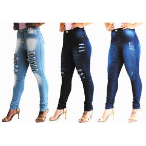 7116007bcc164 Kit Calça Jeans Feminina - Calças Jeans Feminino em Paraná no ...