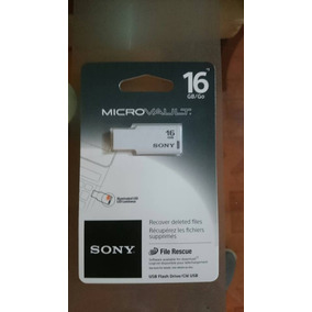 Pendriver Sony Microvault 16gb