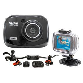 Câmera Filmadora De Ação Full Hd Dvr787 Vivitar + Suporte