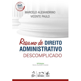 Resumo De Direito Administrativo Descomplicado - Metodo