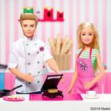 Barbie Y Ken Set De Café: 2 Muñecos