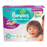 Pañales Pampers Premium Care Talle Xg