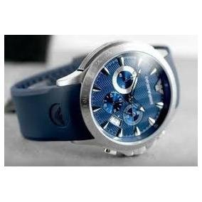 Relogio Emporio Armani Azul Com Caixa Original